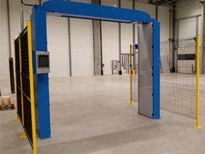 portique RFID industriel